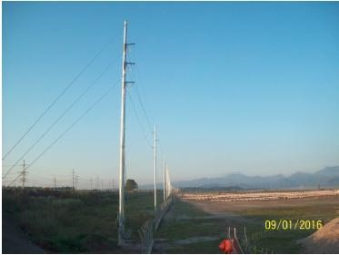 Erection of a 2km Transmission Line