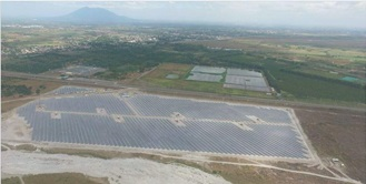 Aerial View of Clark Solar Project